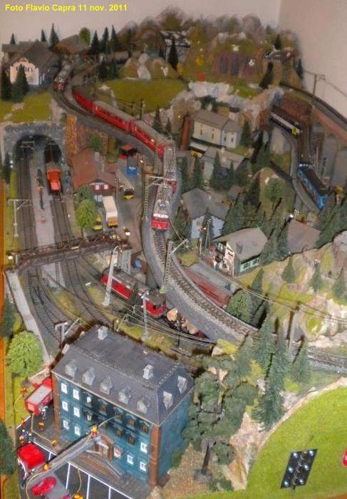 Ferrovia e modellismo manuale dei trenini elettrici - Come costruire una casa in miniatura ...